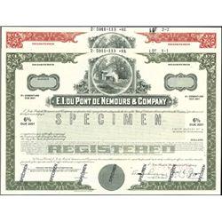 E.I. Du Pont De Nemours & Company Bond Specimens (