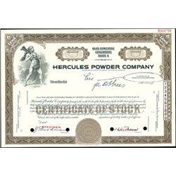 Hercules Powder Company,
