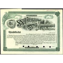 S.S. Fretz Manufacturing Company.