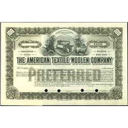 The American Textile Woolen Company.