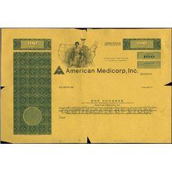 American Medicorp, Inc. Production File,