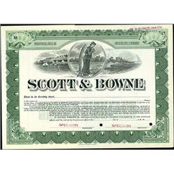 Scott & Bowne,