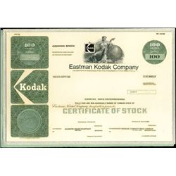 Eastman Kodak Company Unique Production File with