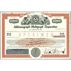 Addressograph-Multigraph Corporation Bonds