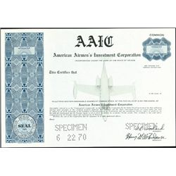 American Airmen's Investment Corporaiton,