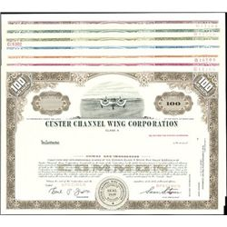 Custer Channel Wing Corporation Rare Group