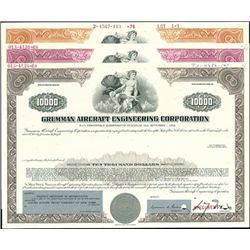 Grumman Aircraft Engineering Corp. Registered bond