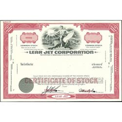 Lear Jet Corporation,
