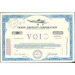 Olson Aircraft Corporation,