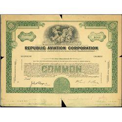 Republic Aviation Corporation Production Proofs