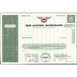 Ross Aviation, Incorporated
