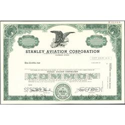 Stanley Aviation Corporation Stock Specimen,