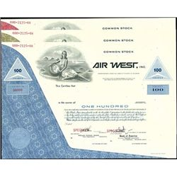 Air West and Hawaiian Airlines (HAL) group