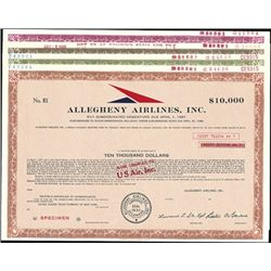Allegheny Airlines - U.S.Air, Inc. Transition Bond