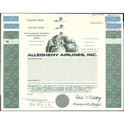Allegheny Airlines, Inc.