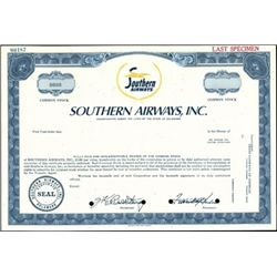 Aviation and Airline Certificates Trio,