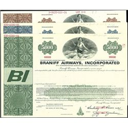 Braniff Airways, Inc. Bond and Warrant Group (3),