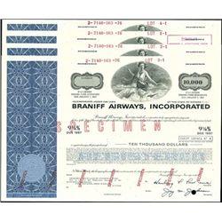 Braniff Airways, Incorporated Bond Group