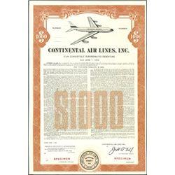 Continental Air Lines, Inc.