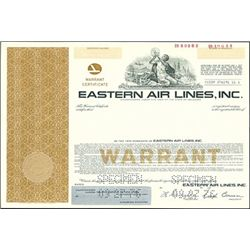 Eastern Air Lines, Inc. Warrants and Bonds