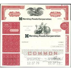 Hershey Foods Corp. Certificate Assortment,