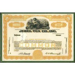 Jewel Tea Co., Inc. Archival Production file. Uniq
