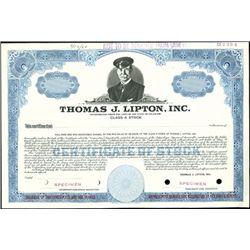 Thomas J. Lipton, Inc.,