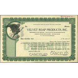 Various New Jersey Household Goods Stock specimens
