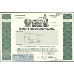 Wendy's International, Inc. Unique Production File