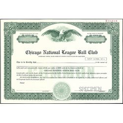 Chicago National League Ball Club,