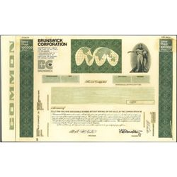 Brunswick Corporation Unique Production File,