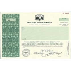 Amateur Golfers' Association of America, Inc.,