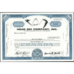 Head Ski Company, Inc,