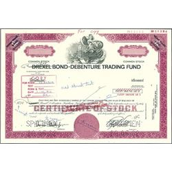1838 Bond-Debenture Trading Fund Stock Production