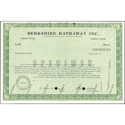 Berkshire Hathaway Inc.,