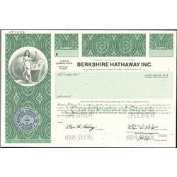 Berkshire Hathaway Inc. Class A Shares,