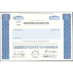 Berkshire Hathaway Inc. Class B Stock,