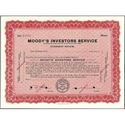 Moody's Investors Service,