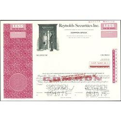 Reynolds Securities International Inc. Assorted St