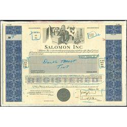 Salomon Inc. Unique Production File with Models an