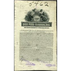 500 Fifth Avenue, Inc. Bond Proof,