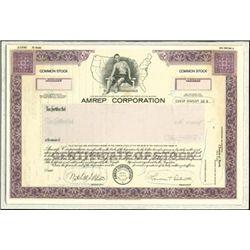 Amrep Corporation Production File,