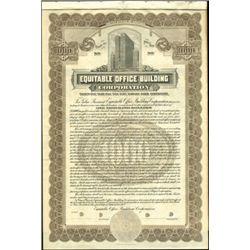 Equitable Office Building Corporation Bond,