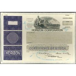 Horizon Corporation Production File,