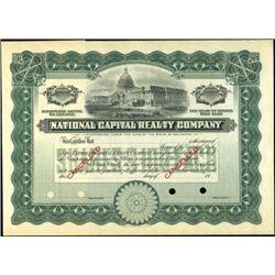 National Capital Realty Company,