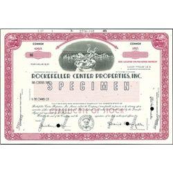Rockefeller Center Properties, Inc.,