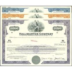 Halliburton Company Bond Specimens (7)