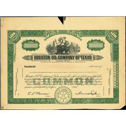 Houston Oil Company of Texas,