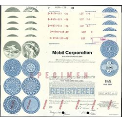 Mobil Oil Corporation Registered Bonds