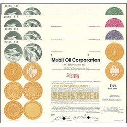 Mobil Oil Corporation Registered Bonds (7)